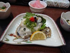冬牡蠣ポン酢