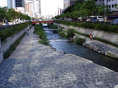 ソウルの川