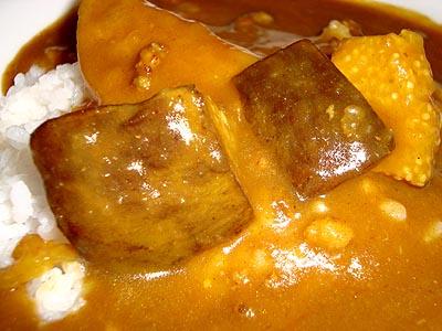 水茄子カレー