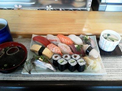 寿司いっぱいランチ