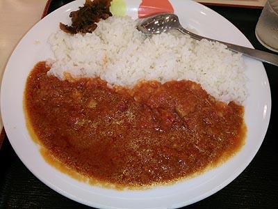 松屋:トマトカレー