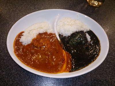 スパイシーマサラ:赤カレー&黒カレー