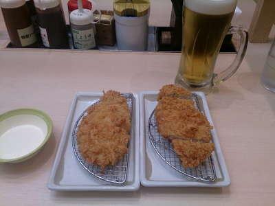 松乃屋:豚カツ2枚