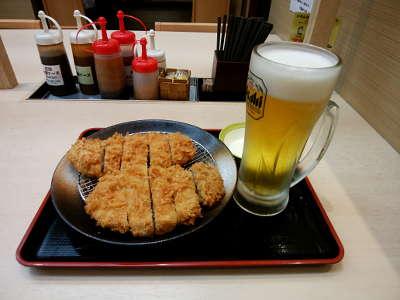 おつまみ生ビール