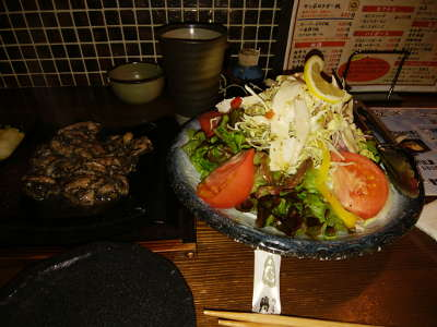 巨大サラダ