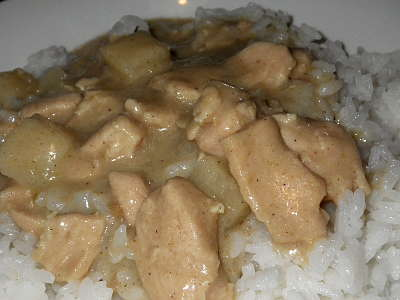 JAVA COCONUT CHICKEN CURRY